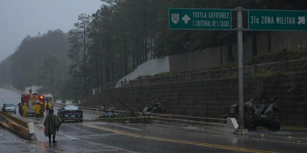 Muere una persona en Chiapas por tormenta ''Cristóbal''