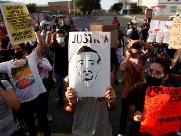La queja se da en respuesta a las acusaciones sobre participantes en movilizaciones por la muerte de Giovanni López. EFE/ARCHIVO