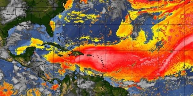 Prevén que polvo del Sahara llegará a la Península de Yucatán
