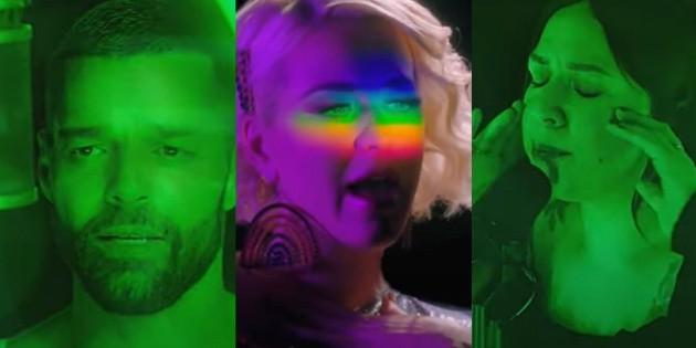 Ricky Martin, Katy Perry y Carla Morrison celebran el orgullo LGBTIQ+ digital
