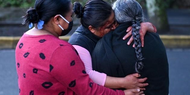 Mujer que muere en ataque a García Harfuch vendía comida por la zona