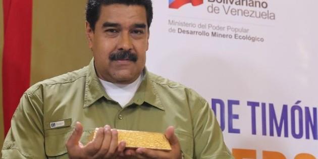 Juan Guaidó busca impedir repatriación de oro venezolano