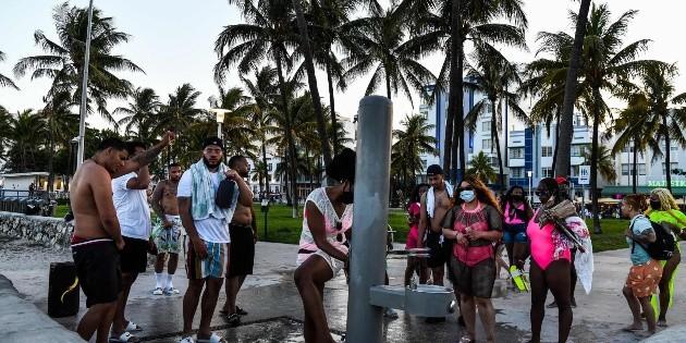 Florida rompe récord de contagios diarios