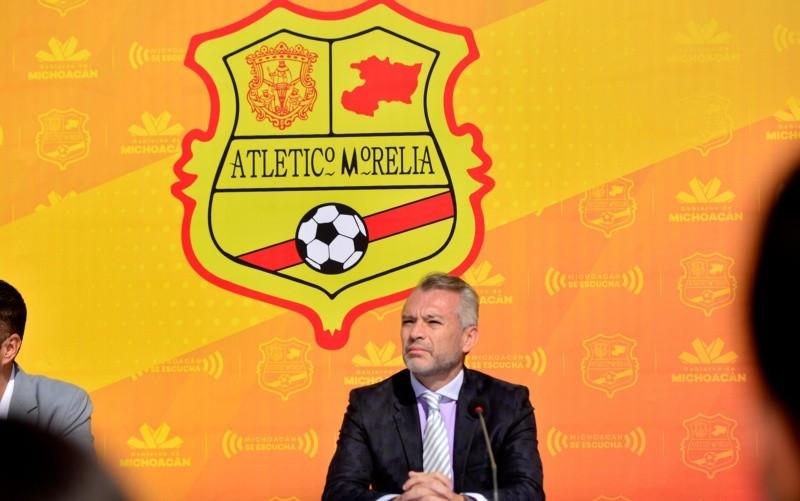 José Luis Higuera presenta al Atlético Morelia | El Informador