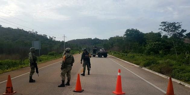 Avioneta que aterrizó de emergencia contenía 300 kilos de cocaína: Sedena