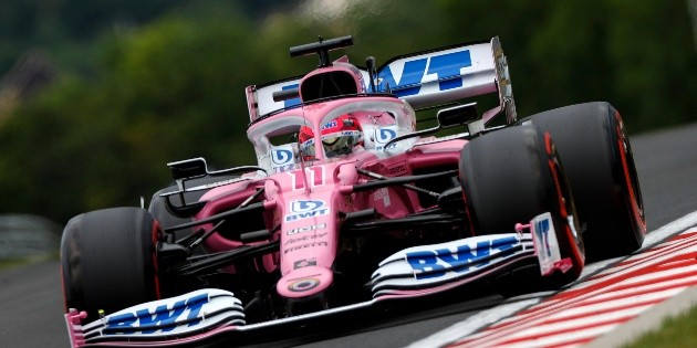 Sergio Pérez saldrá cuarto en el Gran Premio de Hungría