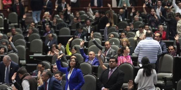 Aprueban periodo extraordinario en la Cámara de Diputados