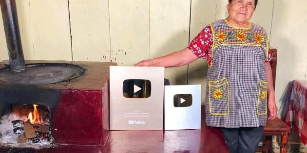 Doña Ángela rompe récord; tiene tres millones de suscriptores en Youtube