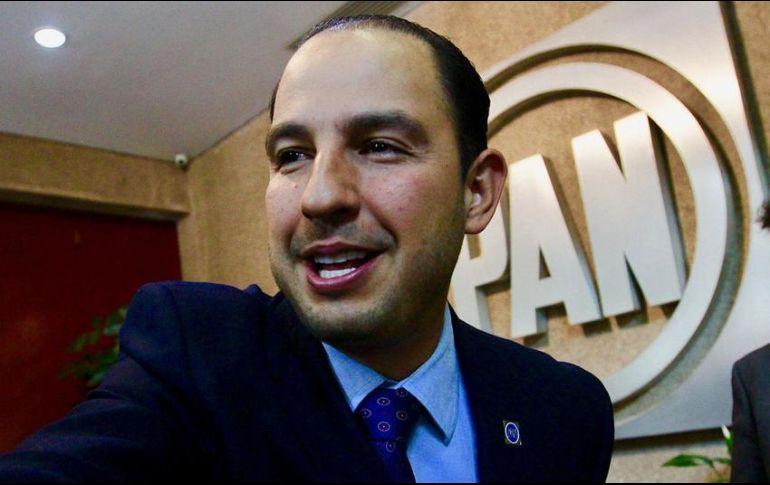 Marko Cortés dijo que es muy probable que en Baja California Sur y San Luis Potosí, los candidatos a gobernador sean panistas. NTX/ARCHIVO