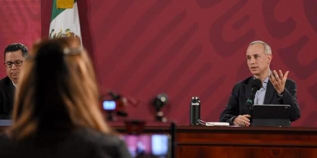México supera récord de casos confirmados en 24 horas, con ocho mil 458