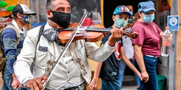Contagios de COVID-19 en México llegan a 469 mil 407 con más de 51 mil muertos