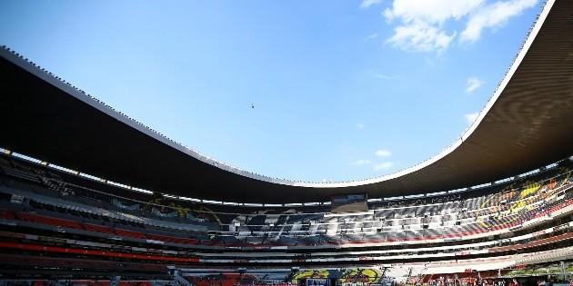 Cruz Azul regresa y entrena en el Estadio Azteca