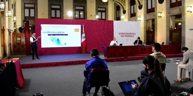 México registra más de 517 mil contagios de COVID-19