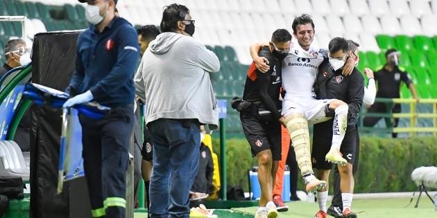 Es uno de los días más tristes, dice Édgar Zaldívar tras lesión