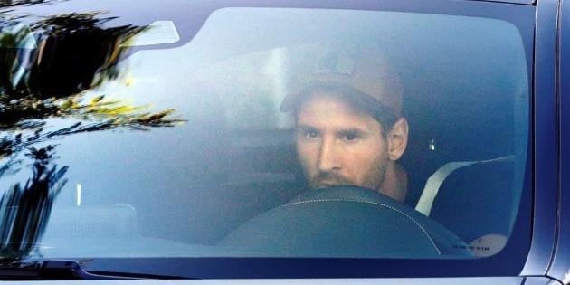 Messi llega para iniciar pretemporada con el Barcelona