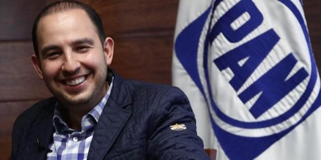 Tras rechazo a su partido, Marko Cortés invita a Zavala y a Calderón al PAN