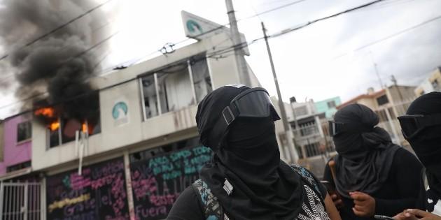 Dejan libres a las 11 feministas detenidas en el Estado de México