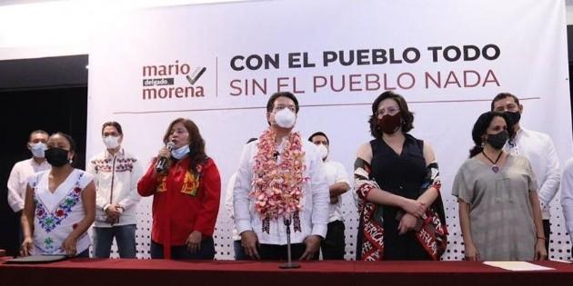 Si Muñoz Ledo tiene pruebas de corrupción, que denuncie: Mario Delgado