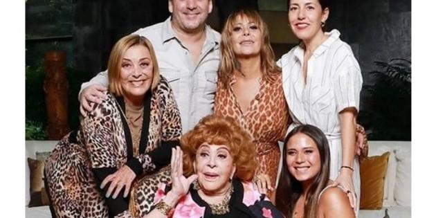 Silvia Pinal celebra su cumpleaños 90 sin sus nietas