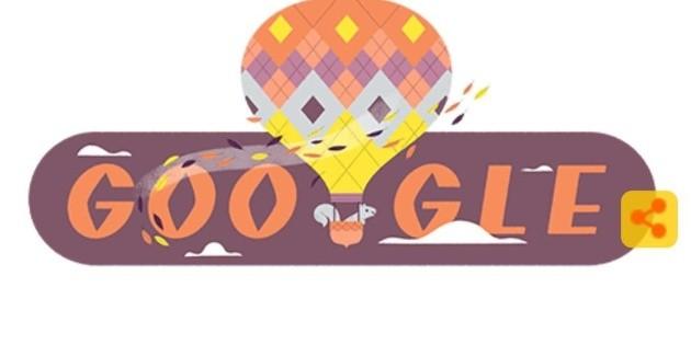 Google da la bienvenida al equinoccio de otoño con un