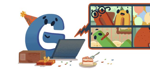 Google festeja su cumpleaños con ''doodle'' bajo la nueva normalidad