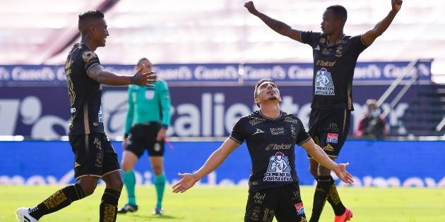León vence a San Luis y se mantiene en la parte alta del campeonato