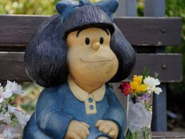 Mafalda nació en 1964. Getty Images