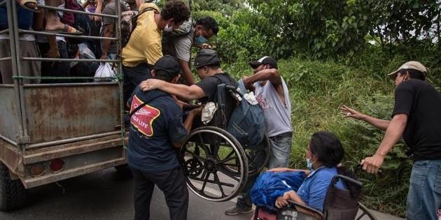 Caravana migrante: México despliega operativo en la frontera sur