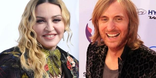 Madonna rechazó trabajar con David Guetta por su signo zodiacal