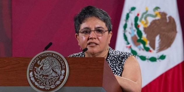 Jefa del SAT, Raquel Buenrostro, da positivo a coronavirus