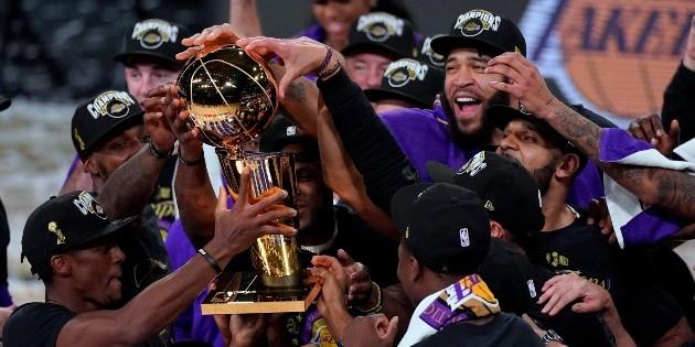 Los Angeles Lakers conquistan el anillo de la NBA