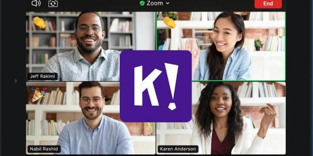 Zoom y Kahoot! anuncian colaboración