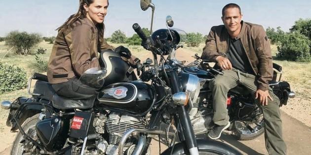 """Michel y Margarita viven una """"India, íntima y extrema"""""""