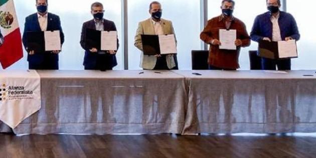 Alianza Federalista firma impugnación por desaparición de fideicomisos
