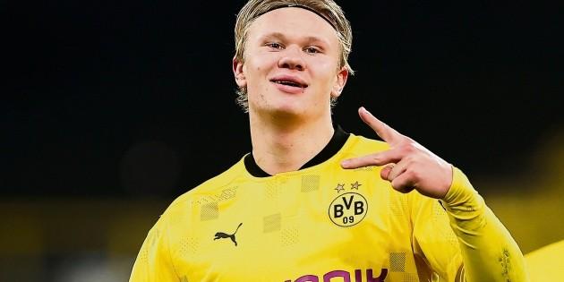 Champions League: Haaland sigue de romance con las redes