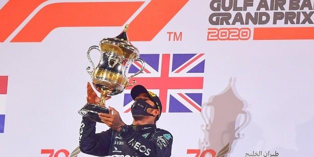 Hamilton amplía su récord de triunfos tras llevarse el GP de Baréin
