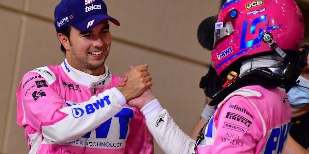 F1: deportistas celebran el triunfo de