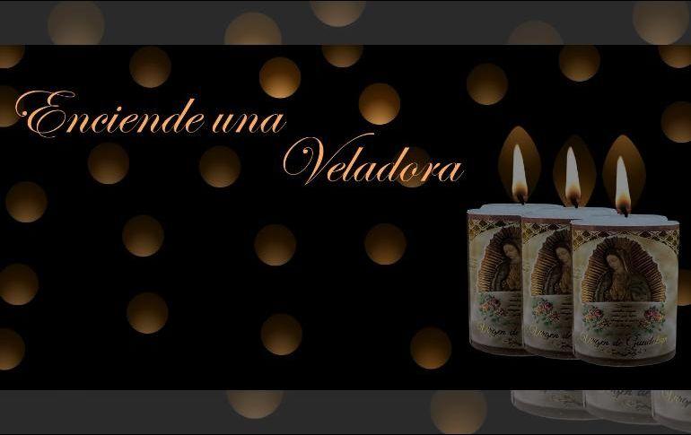 La Insigne y Nacional Basílica de Guadalupe lanzó esta alternativa para celebrar a la Virgen de Guadalupe. ESPECIAL / velas.virgendeguadalupe.org.mx