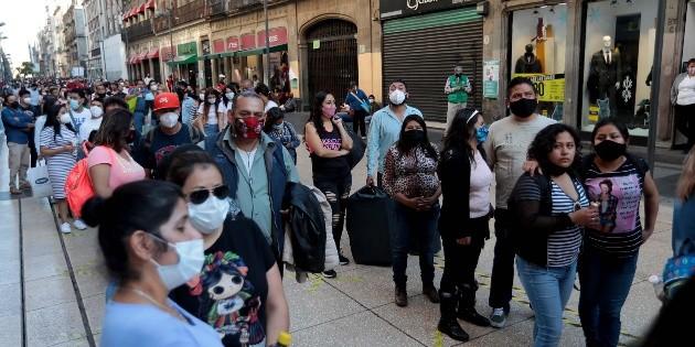 Coronavirus: México llega a un millón 250 mil 44 casos; hay 113 mil muertes