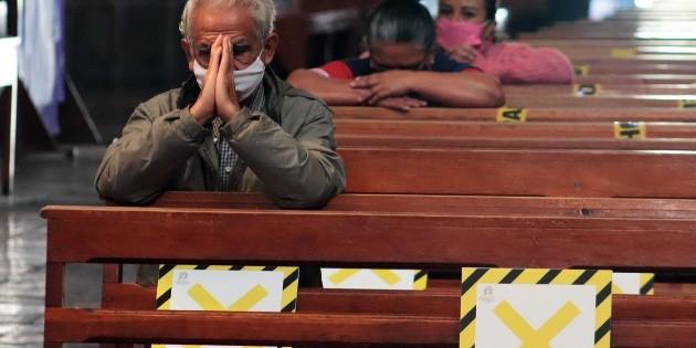 Coronavirus: Cancelan misas con presencia de fieles en Ciudad de México
