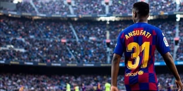 Barcelona: ¿Cómo va la recuperación de Ansu Fati?