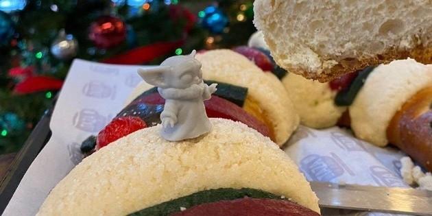 Rosca de Reyes de ''Baby Yoda'' es un ataque a la religión: Frente por la Familia