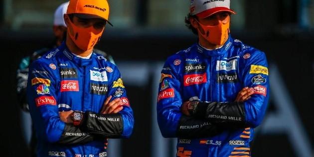 F1: Piloto de McLaren da positivo a coronavirus