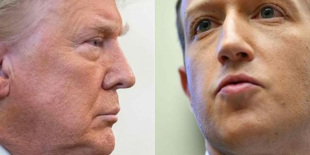Trump no podrá usar Facebook ni Instagram por tiempo indefinido