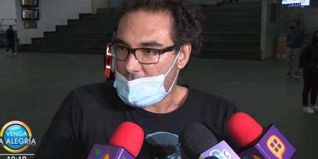 """Eduardo Yáñez explota contra reportero de """"Venga la alegría"""" tras ser cuestionado"""