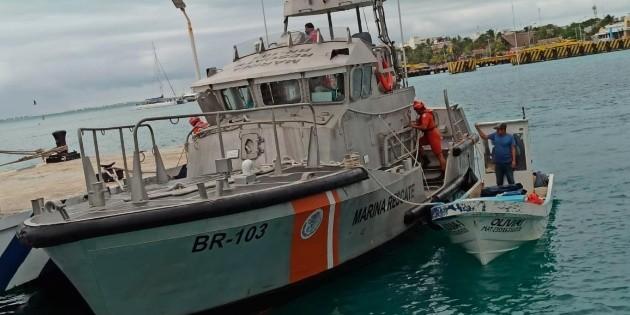 Yucatán: Rescatan a pescadores varados durante nueve días