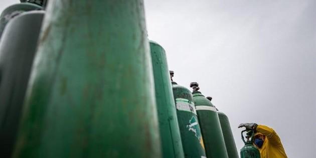 Hombre armado roba siete tanques de oxígeno en Sonora