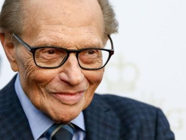 Larry King obtuvo fama mundial con su popular programa de entrevistas en CNN. GETTY IMAGES