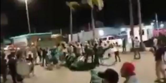 Captan pelea en Mazatlán entre aficionados de Santos Laguna