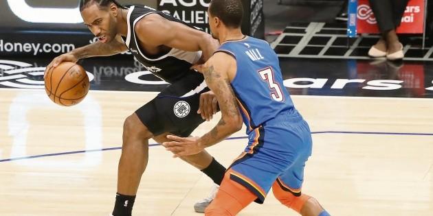 NBA: Los Clippers, sin Leonard y George indefinidamente